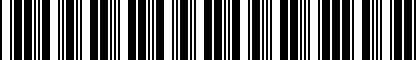 Barcode for 200209075